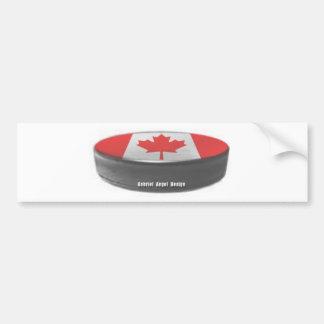 Canada Hockey Car Bumper Sticker