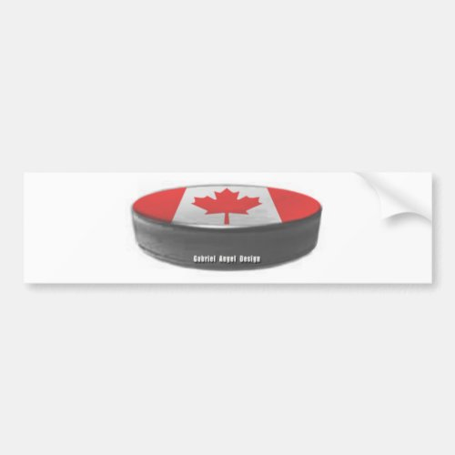 Canada Hockey Bumper Sticker