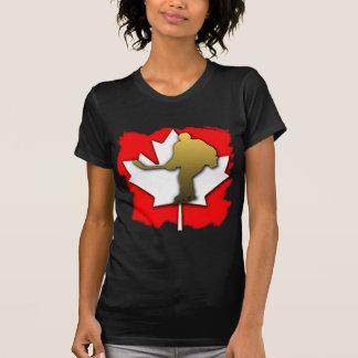 Canada Hockey Gold Tee Shirt