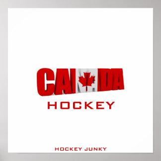 CANADA HOCKEY POSTER