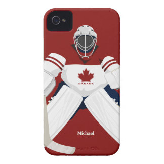 Canada  Hockey  Team Goalie Blackberry Bold Case