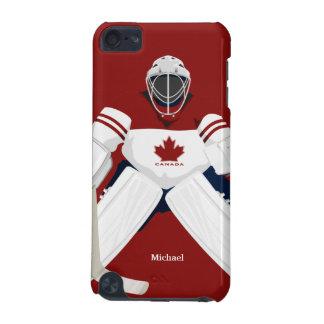 Canada Hockey Team Goalie iPod Touch Case