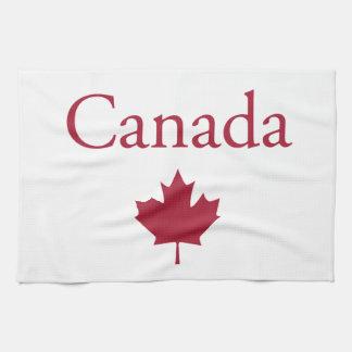Canadá + Hoja de arce Toalla
