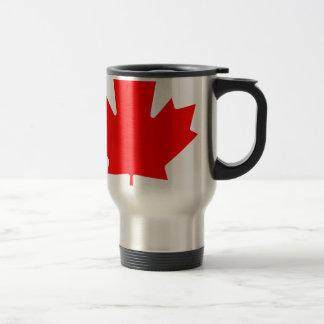Canadá - hoja de arce tazas de café