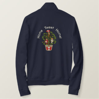 Canada - Home Tweet Home! Embroidered Jacket
