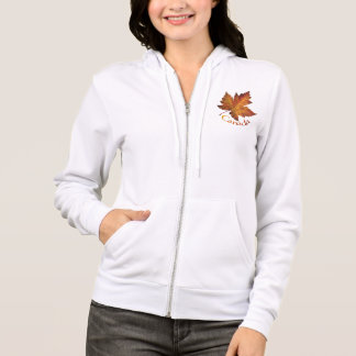 Canada Hooded Jacket Women's Canada Souvenir Shirt