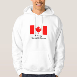 Canada I Love MY Flag The MUSEUM Zazzle Template Sweatshirt