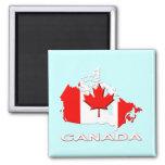 Canadá Imán De Frigorifico