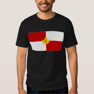 Canada Infantry Branch Camp Flag T-shirt