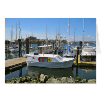 CANADA, Inner Harbour, Victoria, BC Note Card
