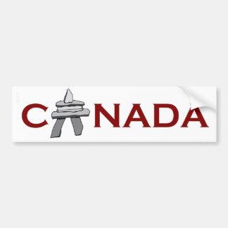 Canada Inuksuk Bumper Sticker