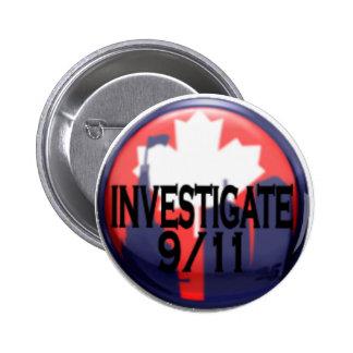 Canadá investiga 9/11 botón pin