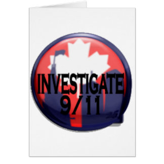 Canadá investiga 9/11 tarjeta