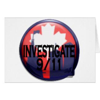 Canada Investigate 9/11 Card