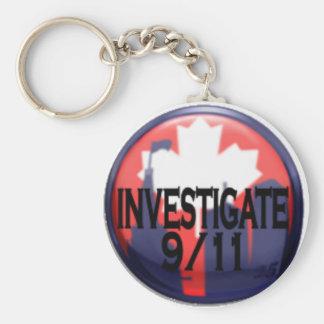 Canada Investigate 9/11 Keychain