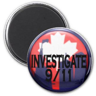 Canada Investigate 9/11 Magnet