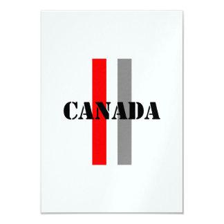 """Canadá Invitación 3.5"""" X 5"""""""