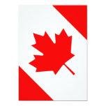 Canadá Invitacion Personalizada