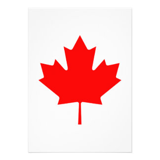Canada Custom Invitations