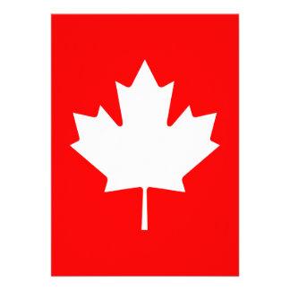 Canada Custom Invitation