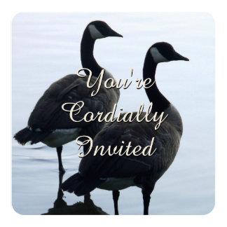 Canada Invitations Personalized Canada Goose RSVP
