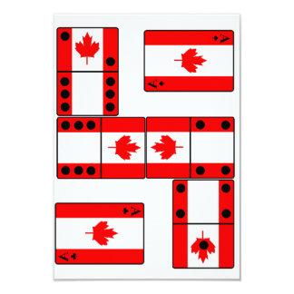 """Canada Invite 3.5"""" X 5"""" Invitation Card"""