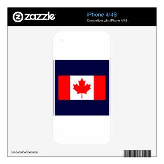 Canada iPhone 4 Skin