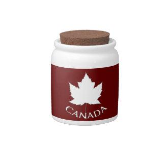Canada Jar Canada Souvenir Candy Jar