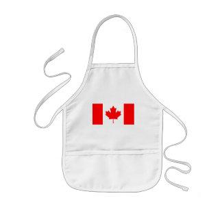 canada kids' apron