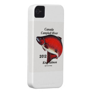 CANADA King Salmon; Canpbell River. iPhone 4 Covers