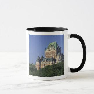 Canadá, la ciudad de Quebec.  Castillo francés Taza