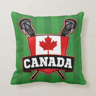 Canada Lacrosse Logo Pillow Cushion