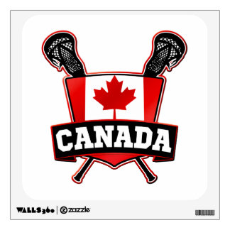 Canada Lacrosse Logo Room Decal