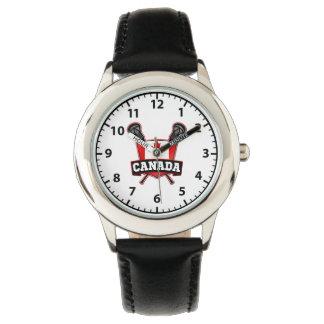 Canada Lacrosse Logo Watch