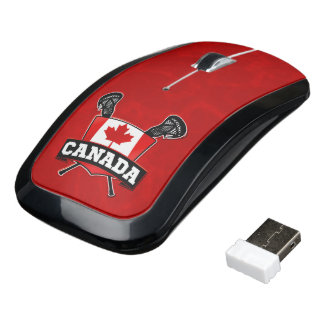 Canada Lacrosse Wifi Mouse, Canadian LAX Wireless Mouse