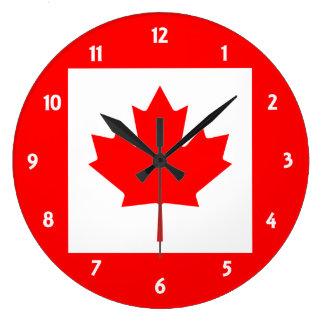canada large clock