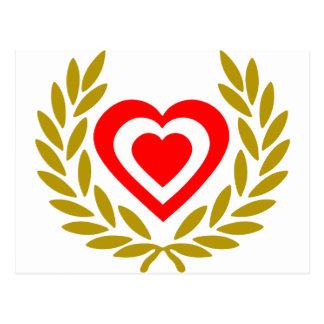 canada-laurel-heart postcard