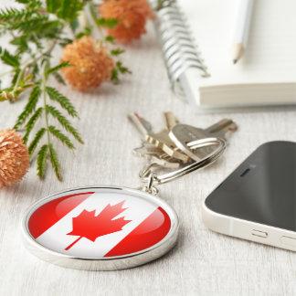 Canadá - llavero redondo superior