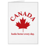 Canada looks better everyday. cards