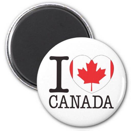 Canada Love v2 Refrigerator Magnet