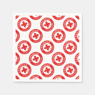 Canada Lucky Charm Luck ED. Series Paper Napkin