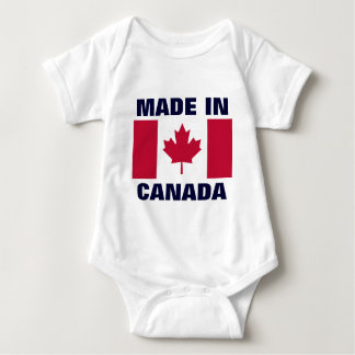 CANADA: Made in Canada Baby Bodysuit