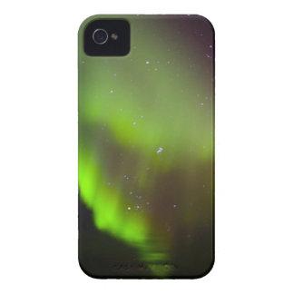 Canadá, Manitoba, Churchill. Aurora Borealis iPhone 4 Case-Mate Cárcasas