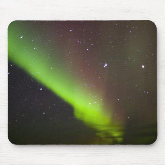 Canada, Manitoba, Churchill. Aurora Borealis Mouse Pad