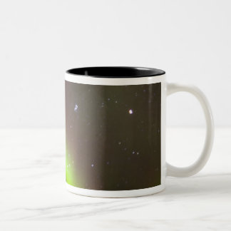 Canada, Manitoba, Churchill. Aurora Borealis Coffee Mugs