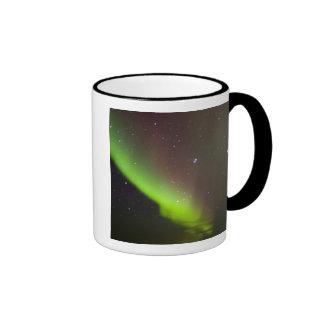 Canada, Manitoba, Churchill. Aurora Borealis Coffee Mug