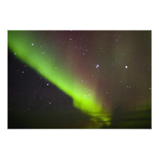 Canadá Manitoba Churchill Aurora Borealis Arte Fotográfico