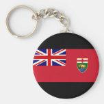 Canada Manitoba Flag Key Chain