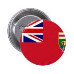 Canada Manitoba Flag Pins
