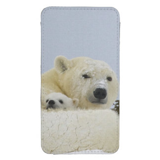 Canada, Manitoba, Wapusk National Park. Polar 8 Galaxy S4 Pouch